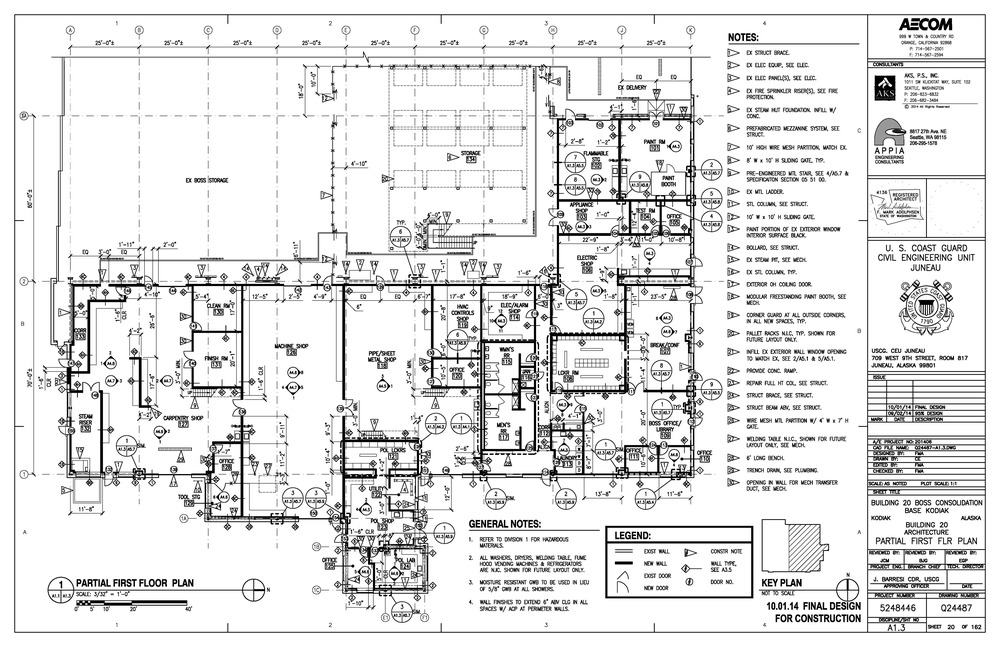 Building 20 new floor plan layout