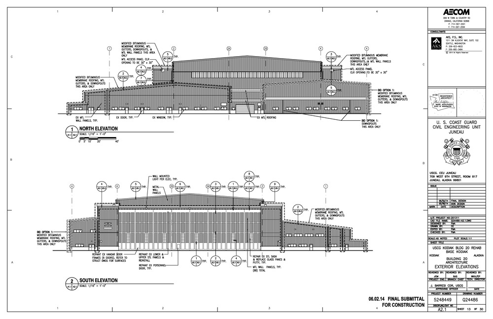 Building 20 Proposed Elevations