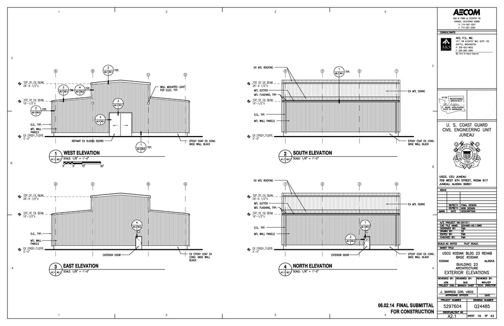 Building 23 Proposed Elevations