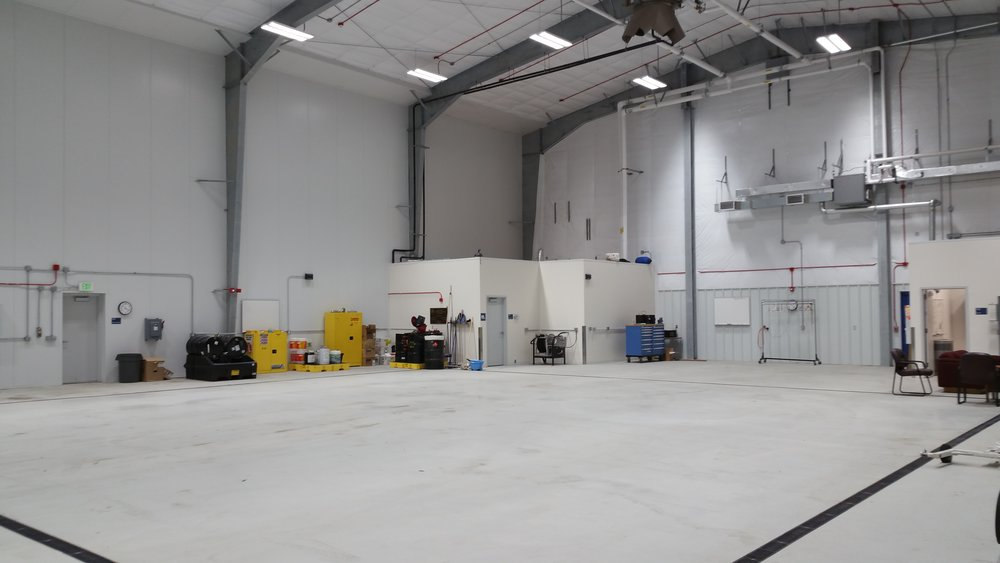 New Hangar Interior