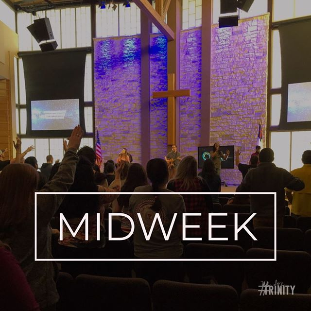 You need a break from finals prep. Come hang out at Midweek at 7pm in the chapel! #WeAreTrinity #TYA