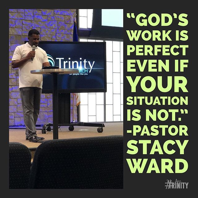 If you missed Midweek, you missed a powerful word by Pastor Stacy! Be at Midweek next week at 7pm in the chapel. #WeAreTrinity #TYA