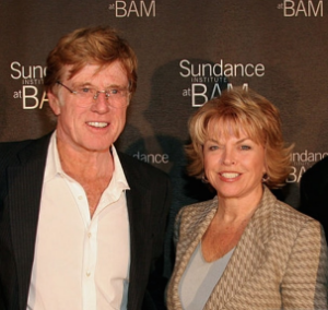 With Sundance founder Robert Redford