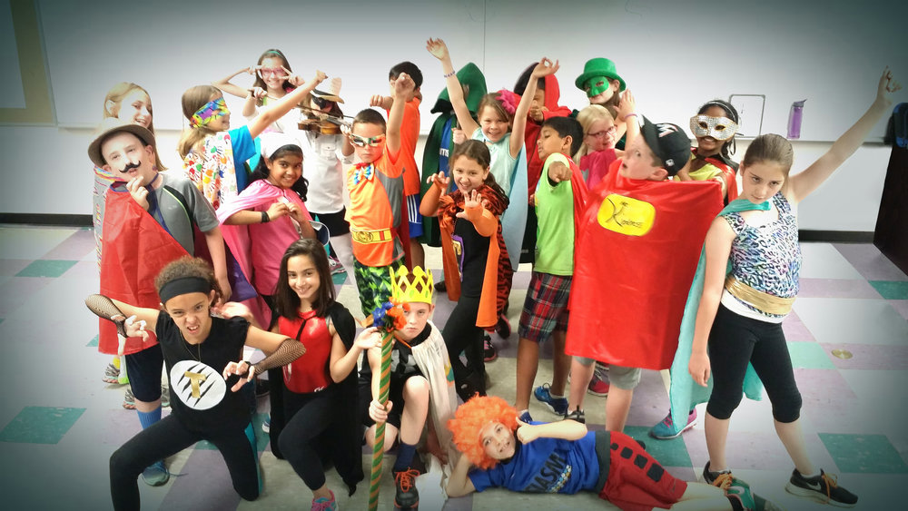 Massachusetts schoolchildren participate in the SuperYou Program.