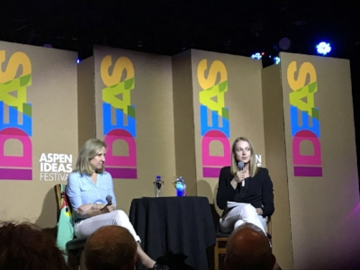 Dr. Helen Fisher interviewed at Aspen Ideas Festival Spotlight Health.