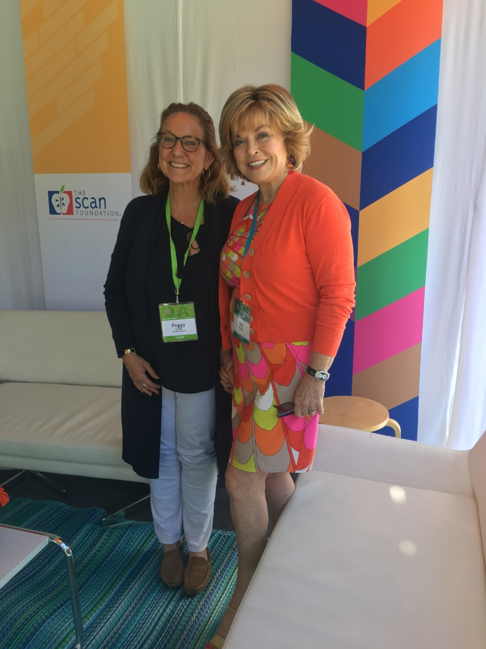 Peggy Clark hosted Aspen Institute's Ideas Festival focusing on health where I moderated panels and interviewed a number experts on philanthropy, education, sustainability and gender equality.