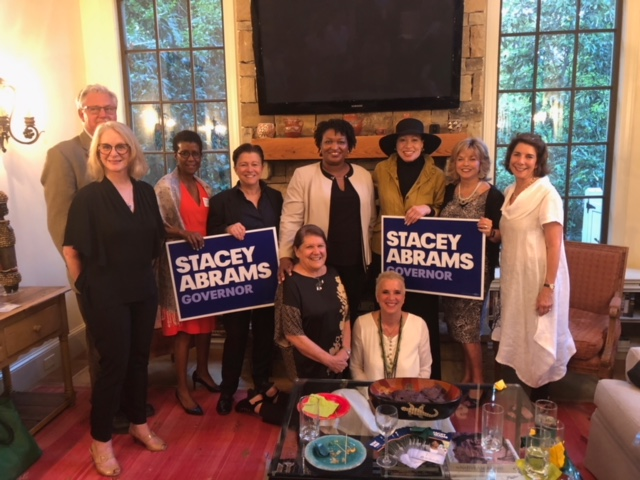 "Scott and I had the honor of hosting a ""Making the Future Better for All Georgians"" with Stacey Abrams in Atlanta earlier this year."