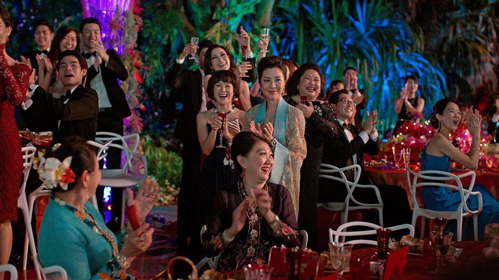 "Actress Michelle Yeoh in a scene from ""Crazy Rich Asians."" (Photo by Sanja Bucko) © 2017 Warner Bros. Entertainment Inc. and SK Global Entertainment"