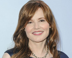"""Write in the script: A crowd gathers, which is half female.""  - - Geena Davis"