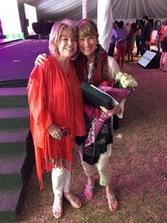 Pat Mitchell and Jacqueline Novogratz