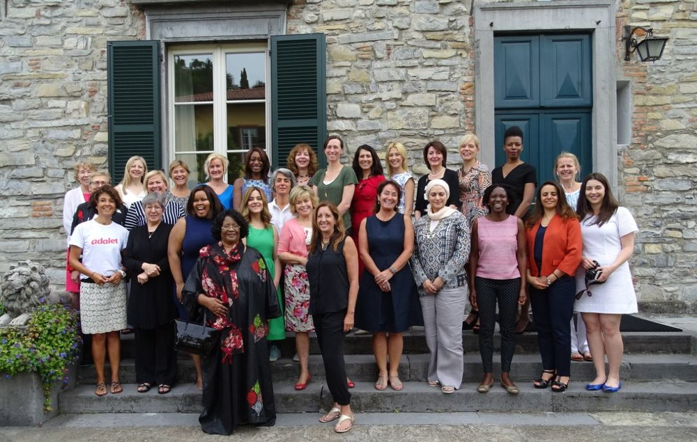 Motivated by the need to build a new collective movement towards shared learning and better solutions, we convened 28 women leaders from 17 countries in July 2017, at the Rockefeller Foundation's Bellagio Center in Italy for the Inaugural Global Women Leaders Summit, in partnership with the Skoll Foundation, The Carter Center, the Council of Women World Leaders and Apolitical.