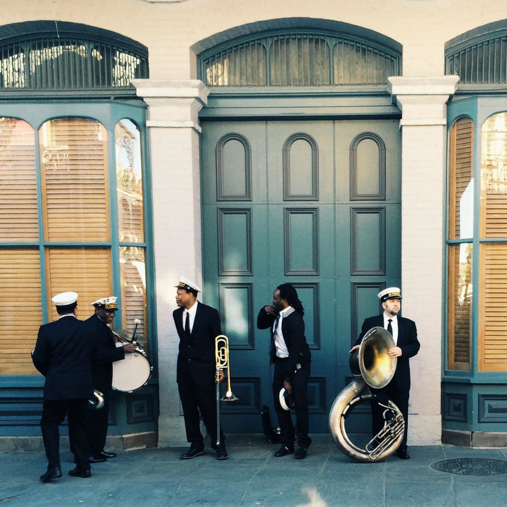 One of my favorite shots - the Treme Brass Band, one afternoon in the French Quarter. See more of my photos on instagram.