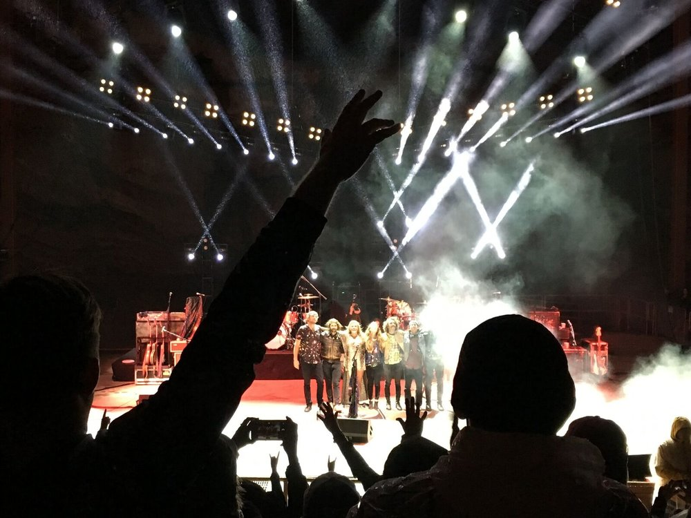Red Rocks, Grace Potter and the Magical Midnight Roadshow (final show!)