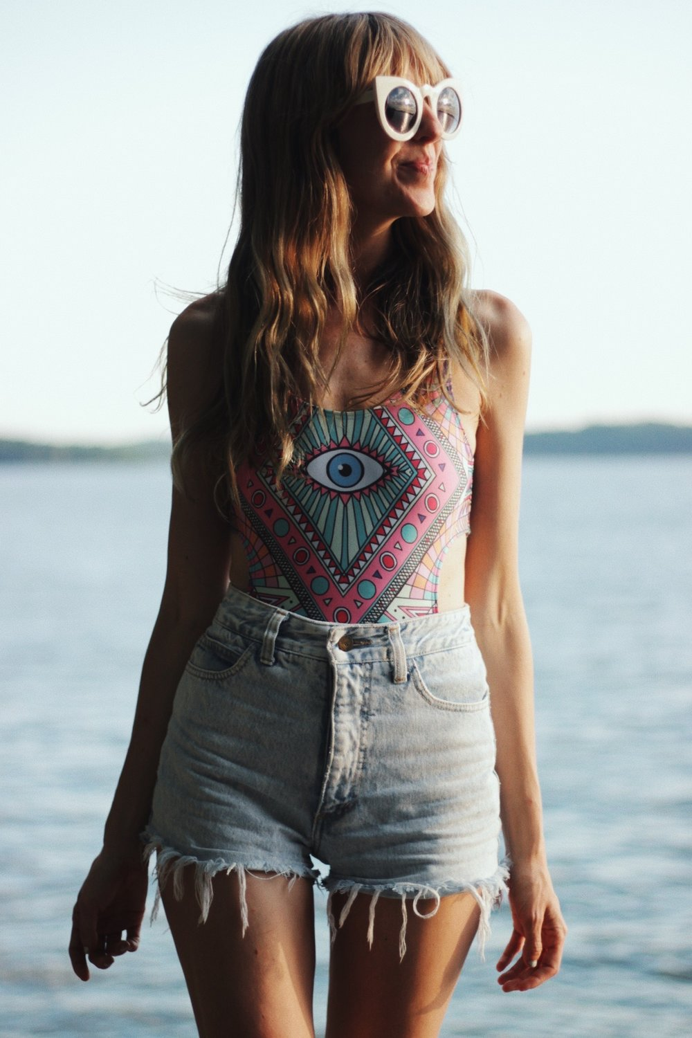 Wildfox Monokini Evil Eye