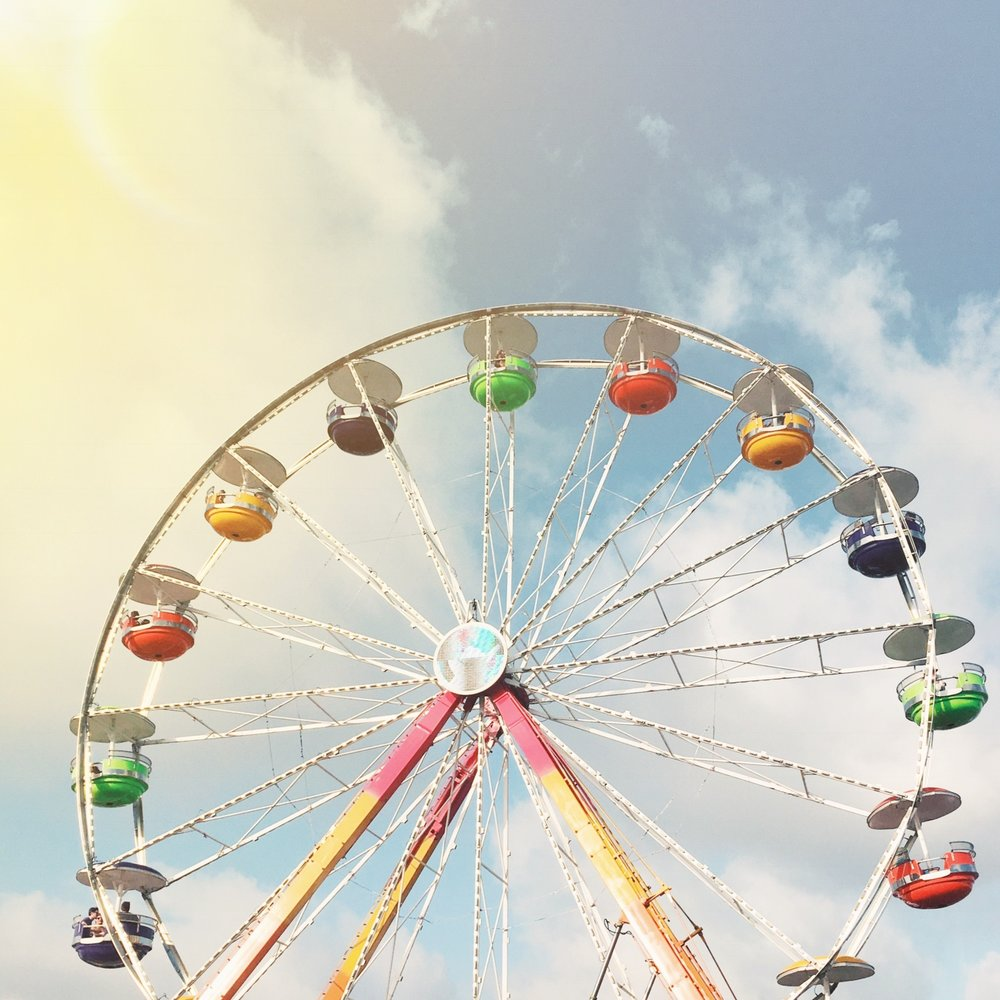 Ferris Wheel at Hangout Festival