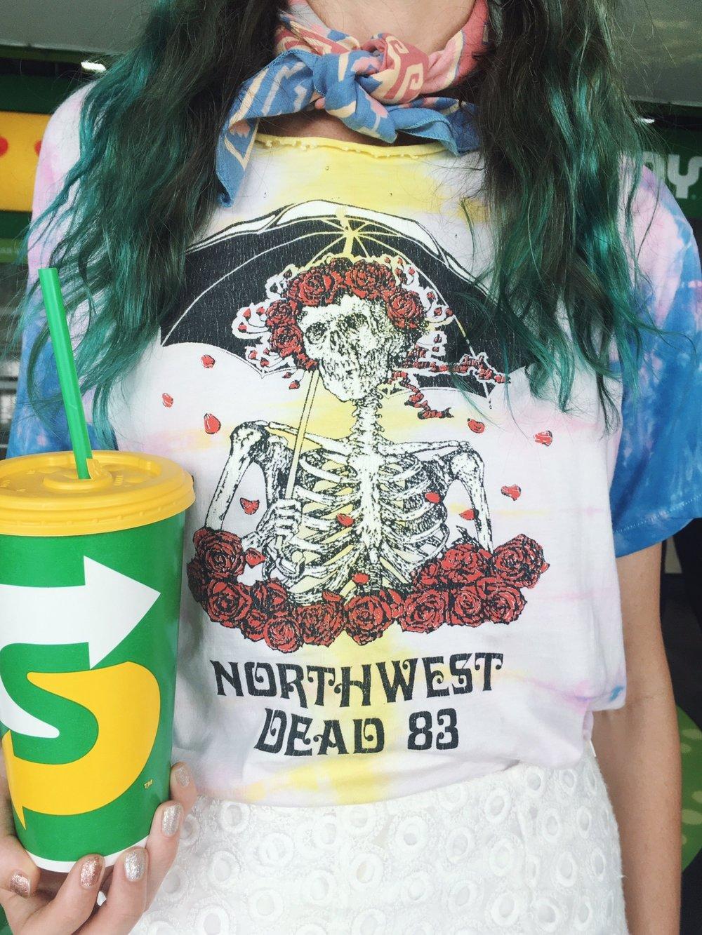 Grateful Dead Vintage T Shirt