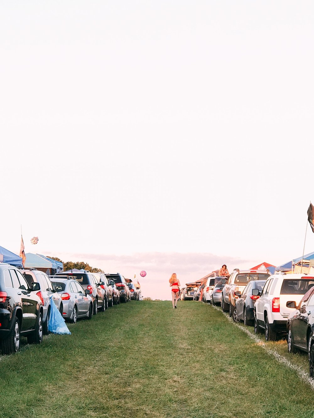 Camping at Bonnaroo