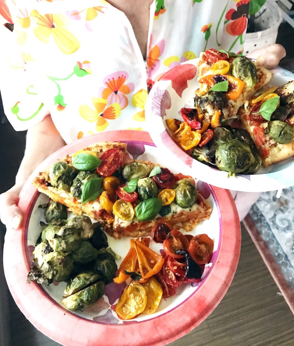 Healthy Veggie Pizzas