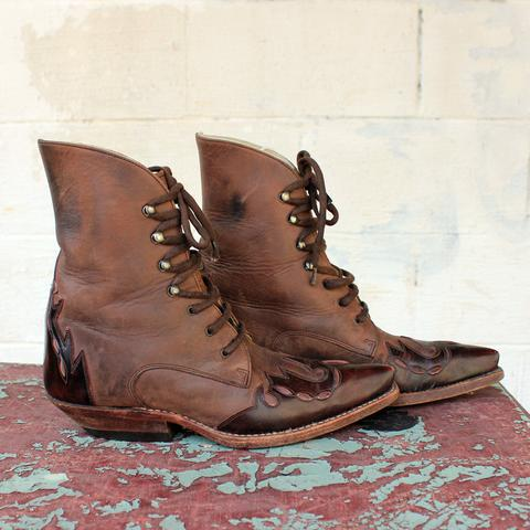 The Vintage Western Sancho Boots available at High Class Hillbilly