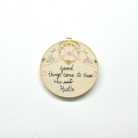Custom needlepoint from Old Made Good