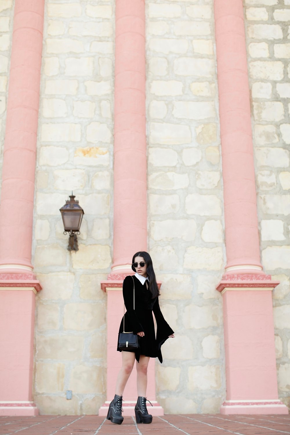 The Velvet Dress on Oui We