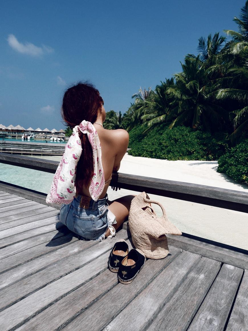 Lorna Luxe for Oui We in Maldives