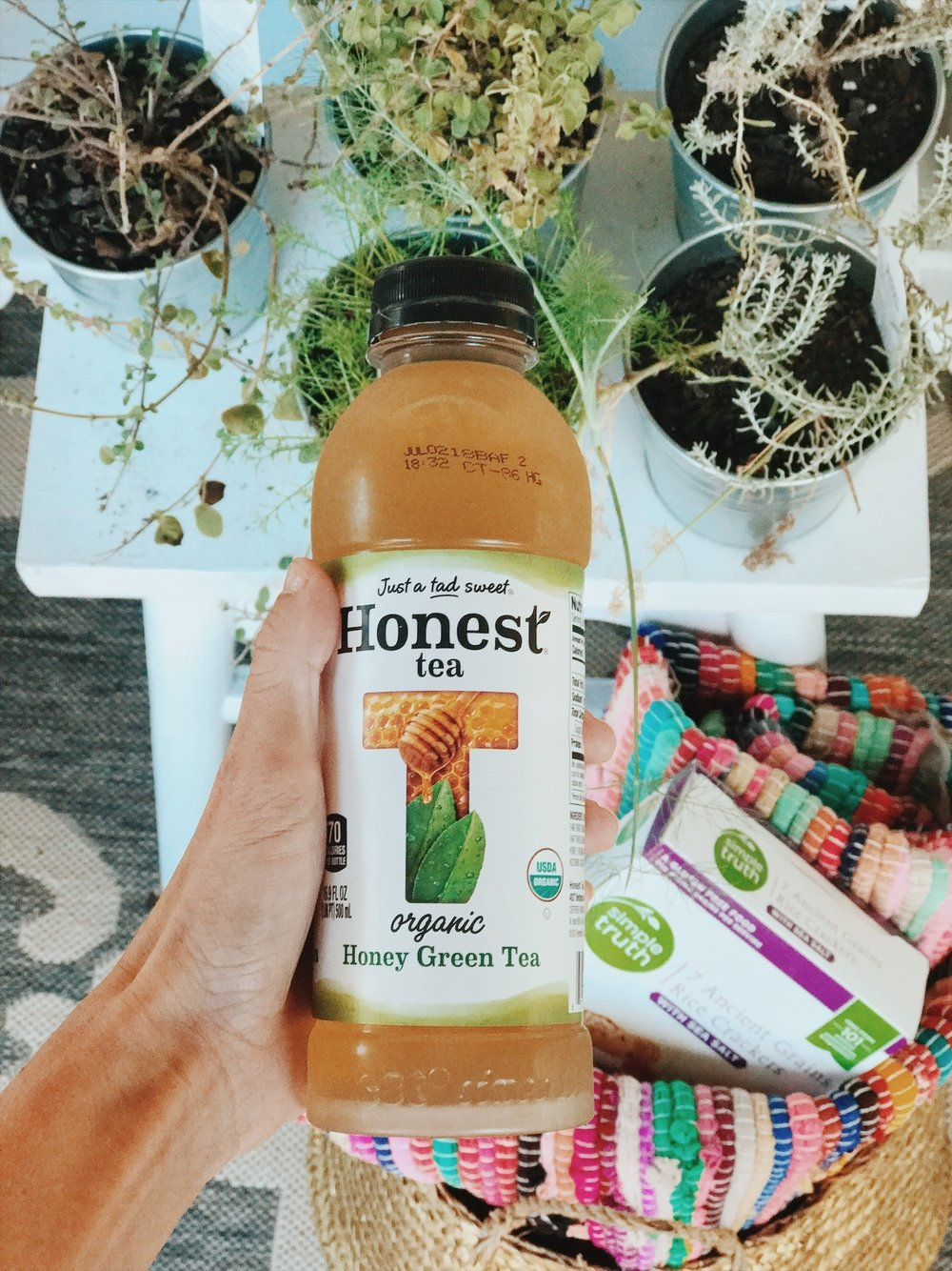 Oui We for Honest Tea