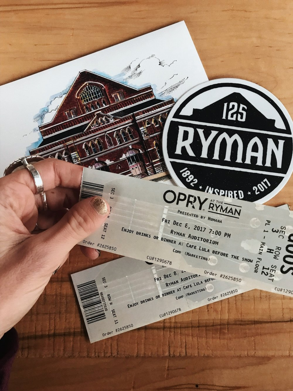 Tickets for Two Grand Ole Opry | Oui We Girl