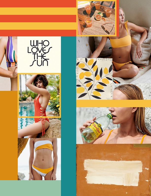 swim moodboard oui we