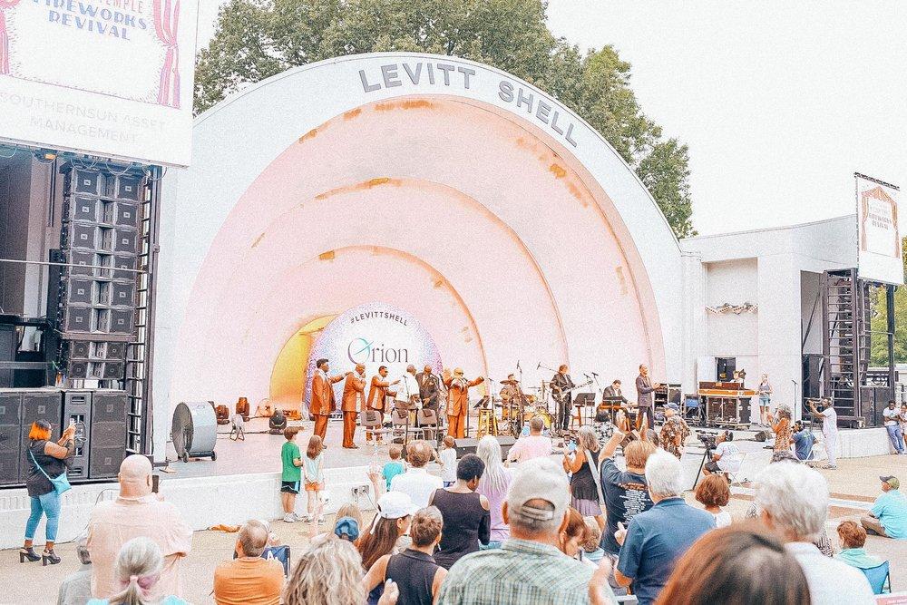 The Levitt Shell Memphis / Oui We
