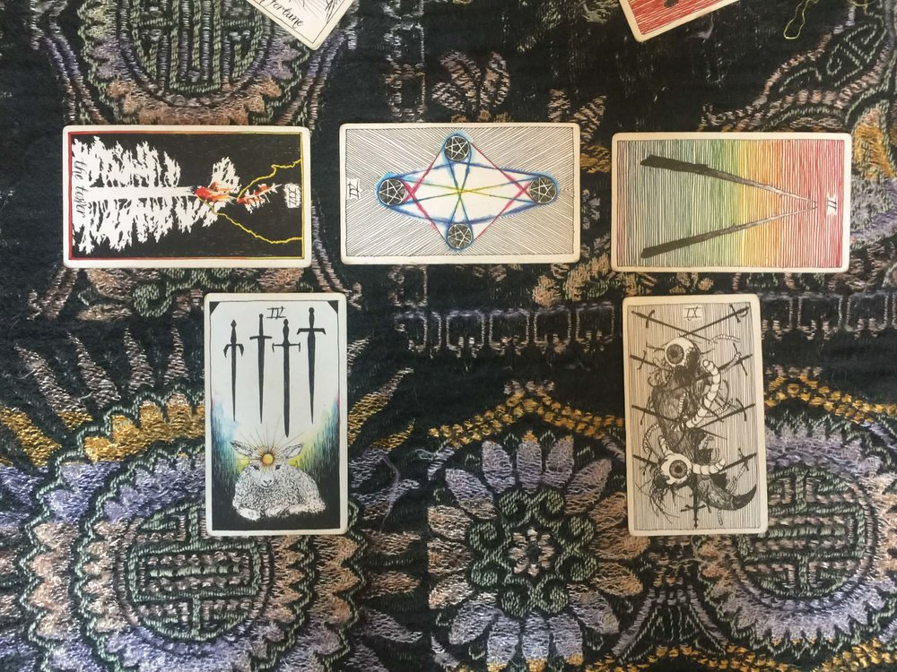 Tarot: New Moon in Scorpio via ouiwegirl.com