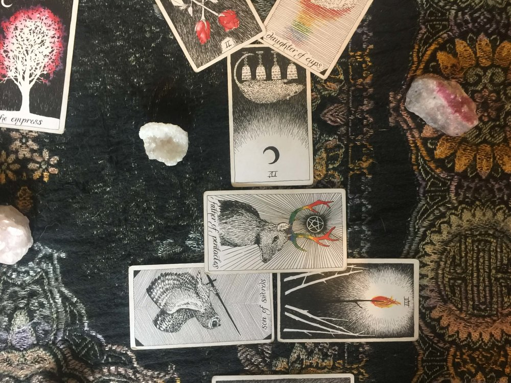 Tarot: New Moon in Scorpio via ouiwegirl.com