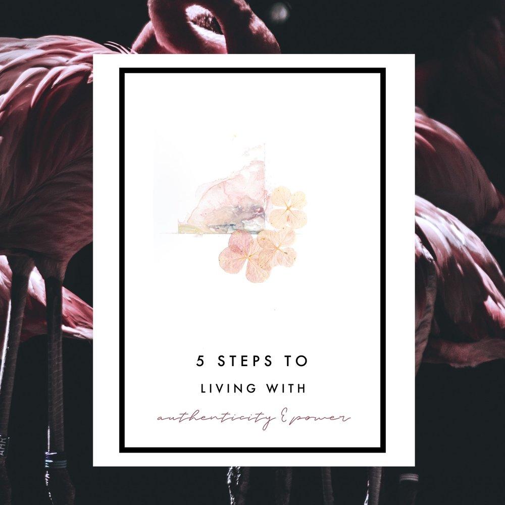 7 Steps to Living with Authenticity & Power // ouiwegirl.com