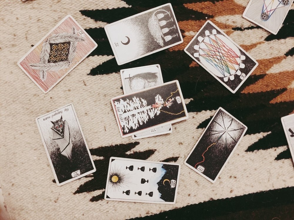 tarot cards, new moon, sagittarius, tarotscope, wild unknown