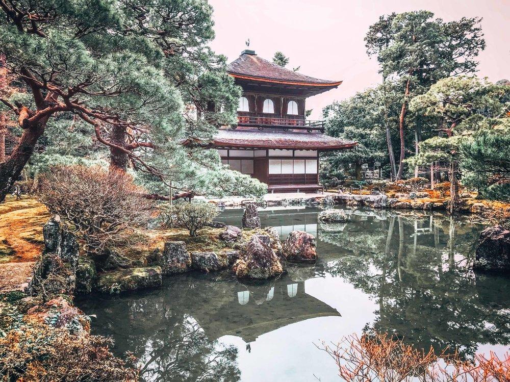 Ginkakuji Wanderful City Guide: Kyoto, Japan || ouiwegirl.com
