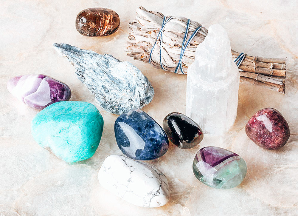 Crystals for Sleep, Anxiety and Stress Relief Via Amazon.com