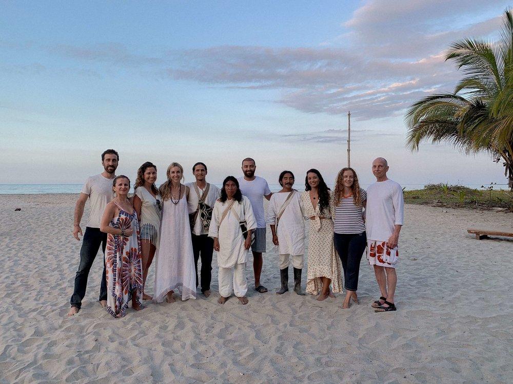 kogi tribe, ceremony, colombia, retreat, yoga retreat, eco resort