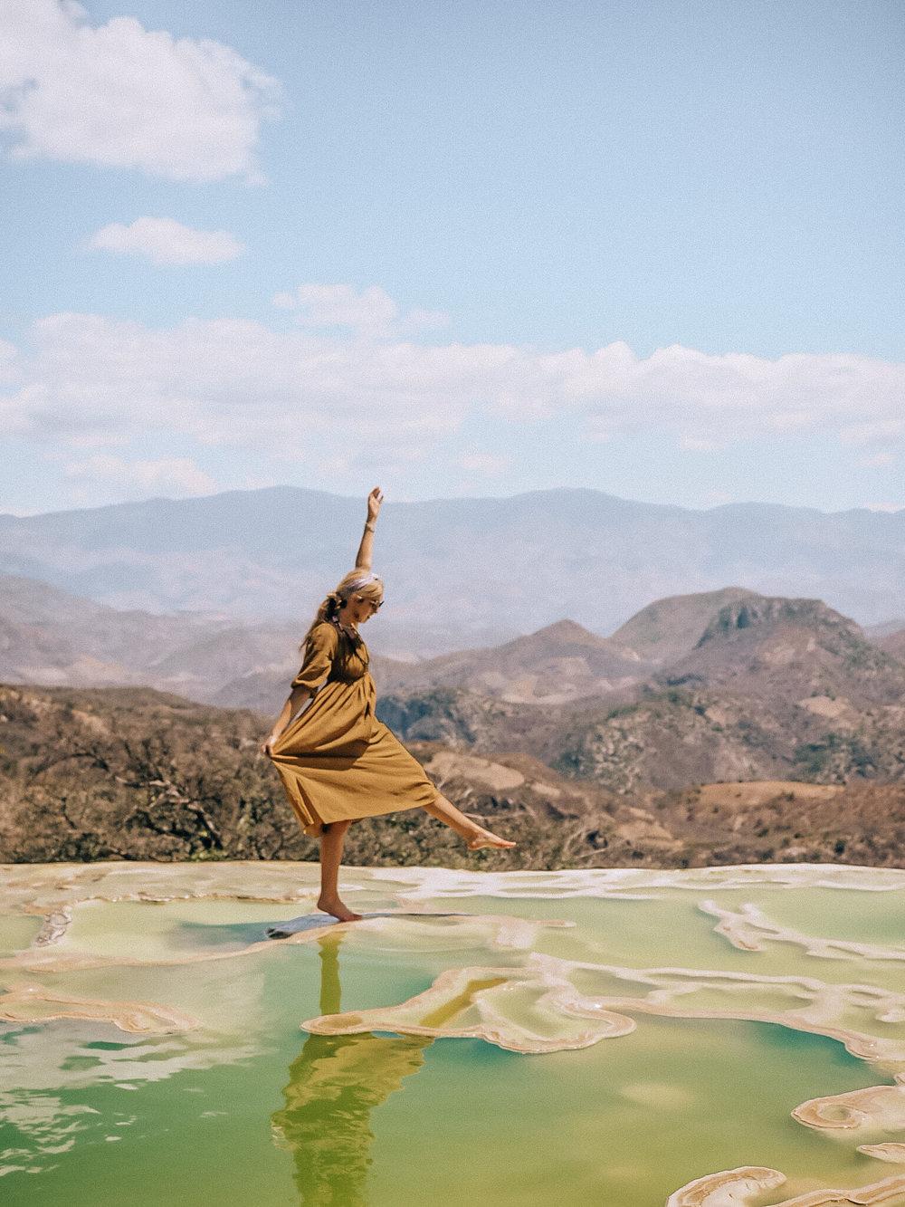 Oaxaca Travel Guide, Hierve el Agua, Mexico, Bohemian Style