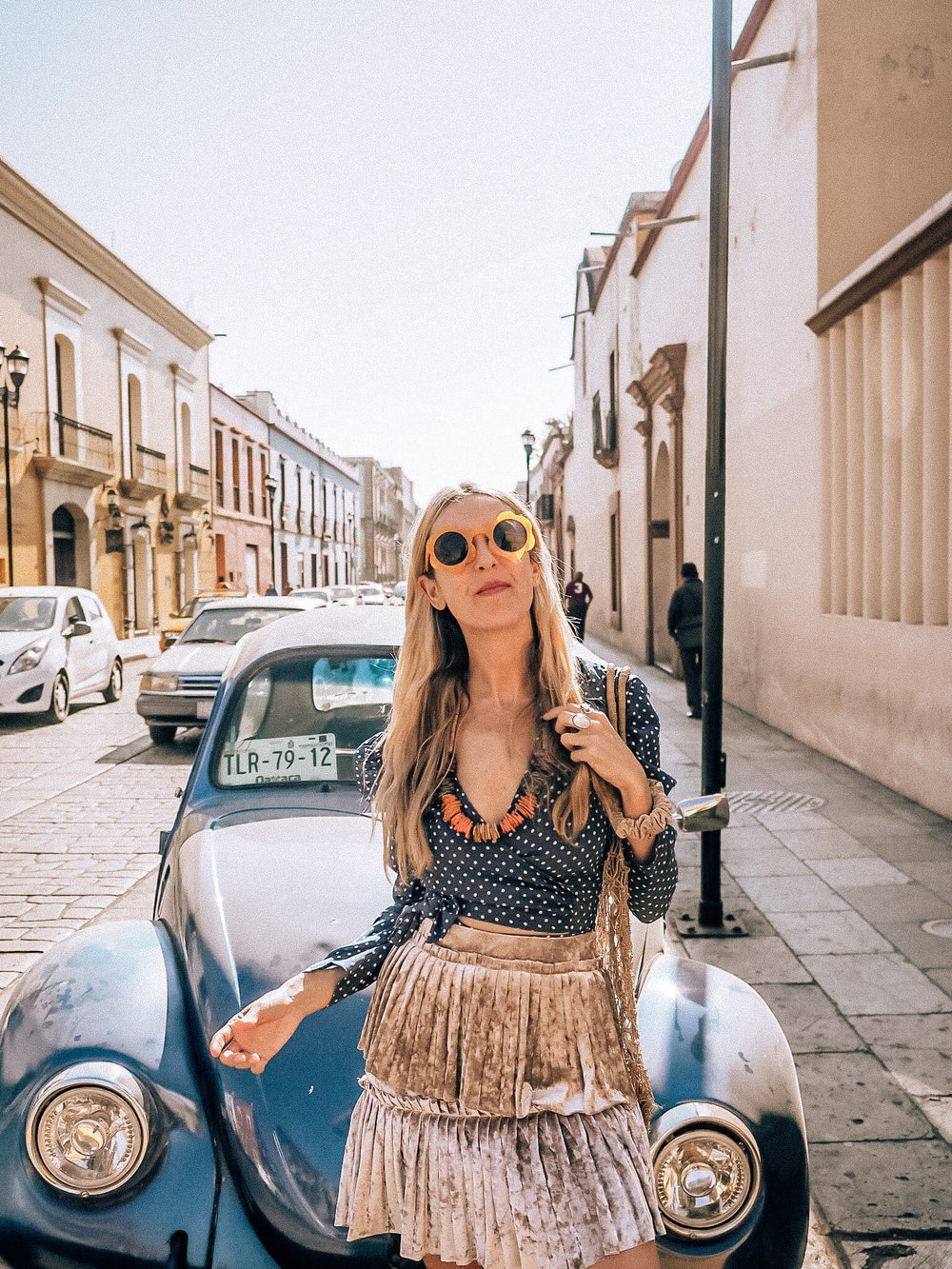 Floral sunglasses, bohemian style, Oaxaca Brunch