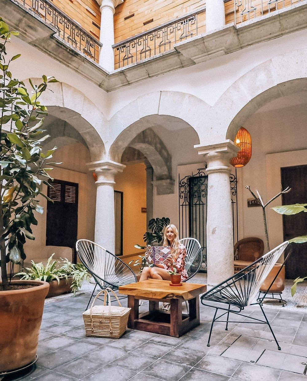 Casa Antonieta, Oaxaca Mexico, Boutique Hotel, Luxury Hotel