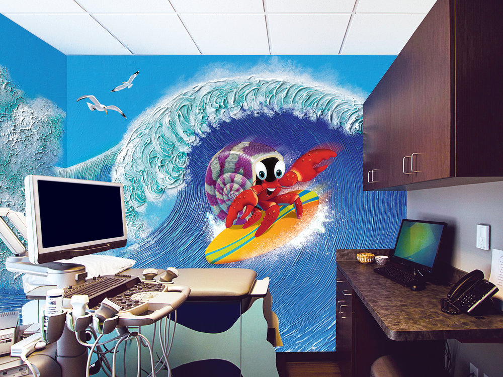 Ultra Sound Room Hang Ten Crab
