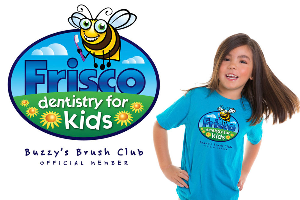Custom Themed Pediatric Dental Logo and Design