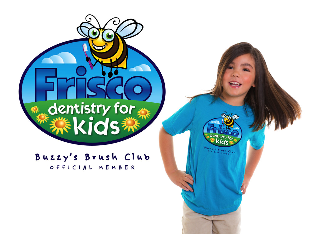 Frisco Dentistry For Kids Branding and Brush Club