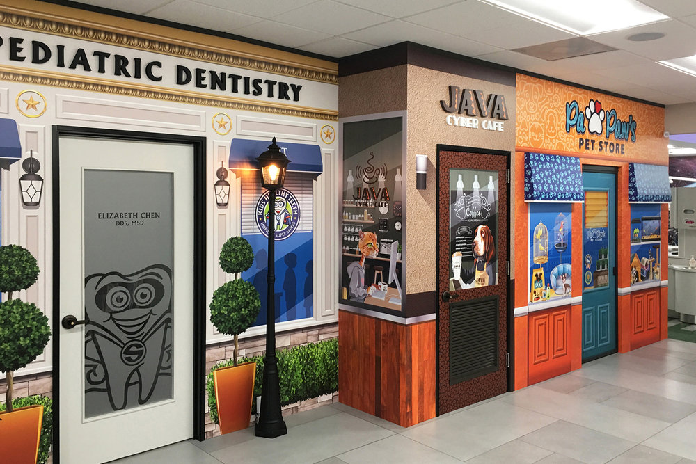 Pediatric Dentistry Main Street Theme