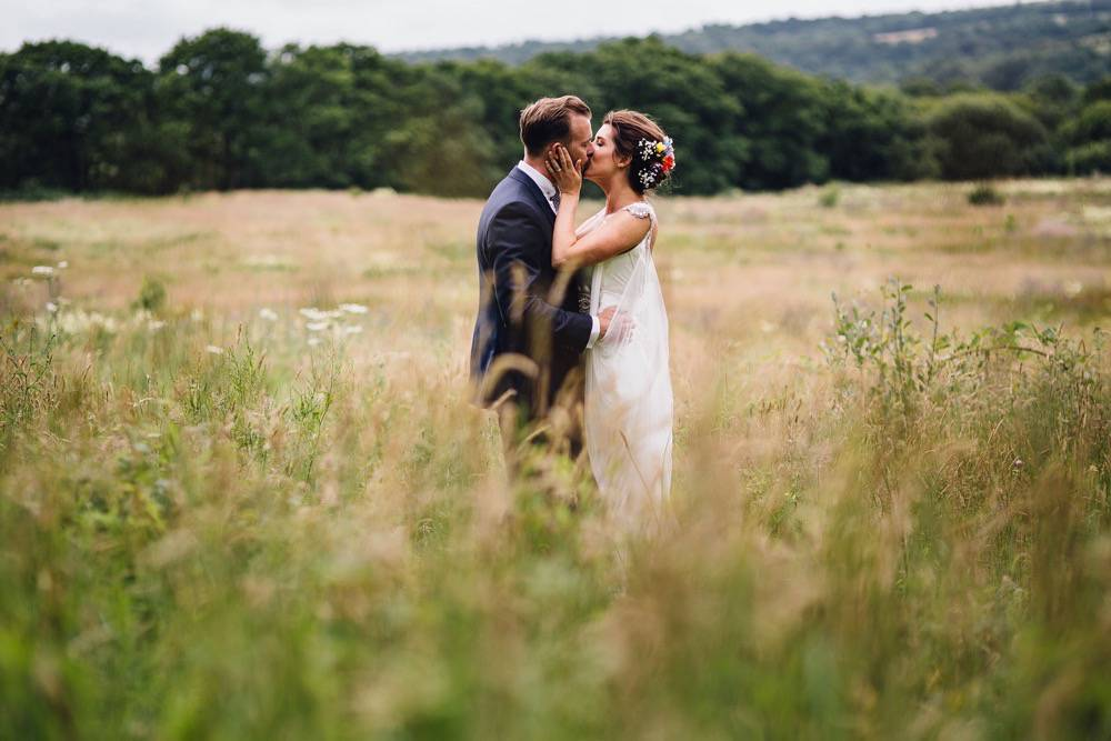 Laurie & James - fforest farm