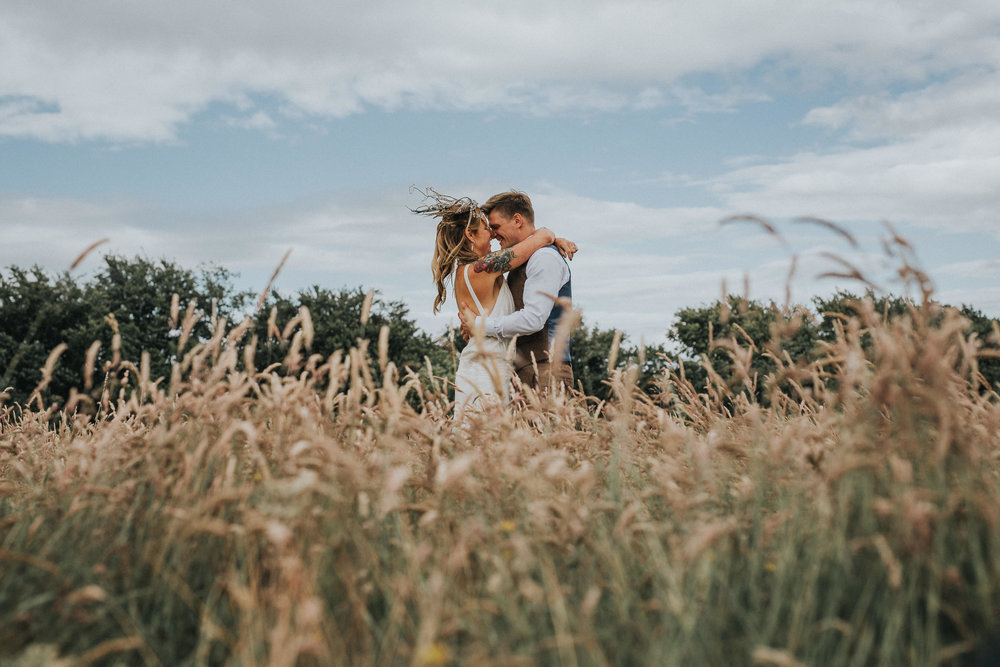 Sally & James - fforest farm
