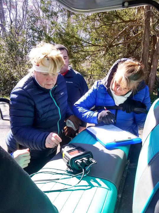Kathy Batton & Patty Speir, Resident Volunteers