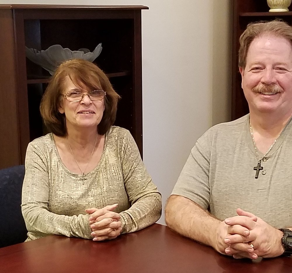 Our Roseville Office Team-Shirley and Steffon