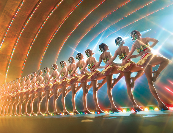 The amazing Rockettes!