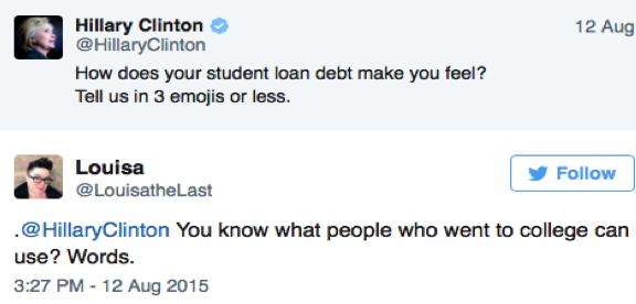 fail marketing to millennials hillary clinton mistake